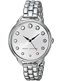Marc Jacobs Women's 'Betty' Quartz Stainless Steel Casual Watch, Color:Silver-Toned (Model: MJ3541)