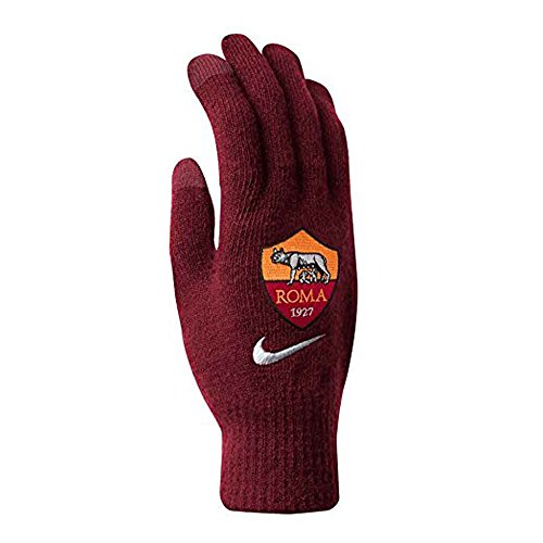 fan products of As Roma Supporter Knitted Tech Gloves (SMALL/MEDIUM)