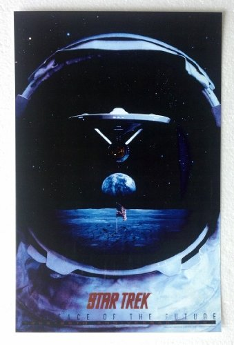 Star Trek The Face of the Future 25th Anniversary 1991 11 x 17 Poster Lithograph