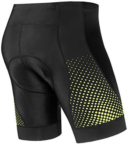 Coolmax Breathable Mens3D Gel Padded Bicycle Cycling Bike Underwear Short Pants