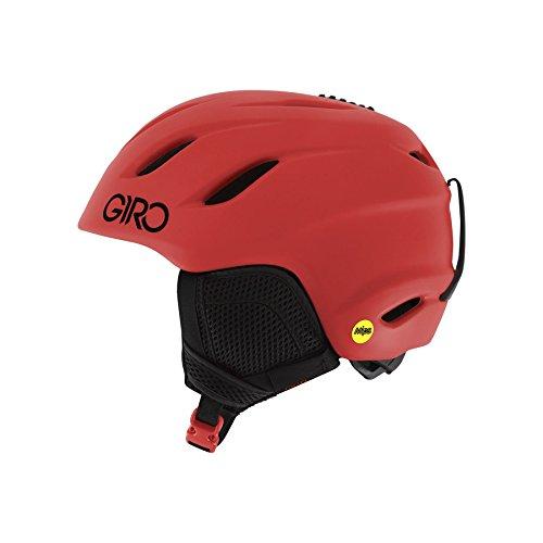 Giro Nine JR MIPS Snow Helmet 2016 - Kid's Matte Bright Red Medium Giro Nine Ski Helmet
