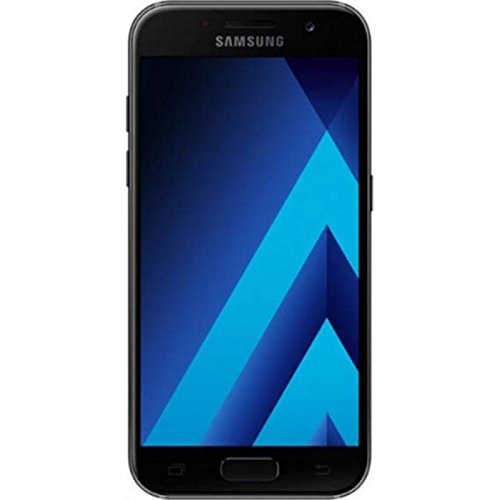 Samsung Galaxy A3(2017) A320F DS 16GB (BLACK SKY) GSM Unlocked International Model, No Warranty
