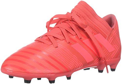 adidas Performance Girls' Nemeziz 17.3 FG J, Real Coral/Red