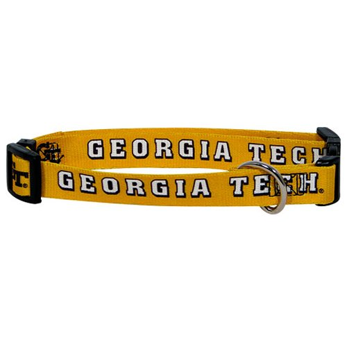 Hunter MFG Georgia Tech Dog Collar, Small