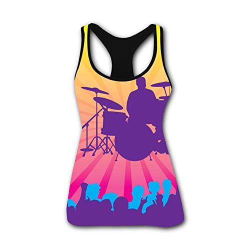CARRINGTON Womens Tank Top Live Concert Sleeveless Tank Tops Camisoles Vest for Women Yoga Bodybuilding -