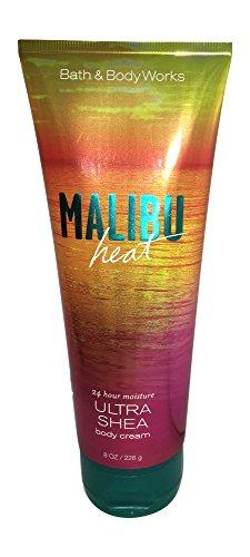 MALIBU HEAT Signature Collection Ultra Shea Body Cream 8 oz / 226 g