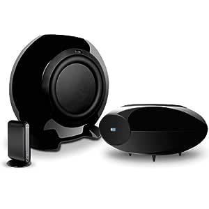 KEF HTB2SE-W Wireless Subwoofer (Gloss Black)