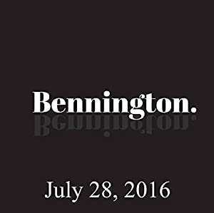 Ron Bennington Archive, July 28, 2016 Radio/TV Program