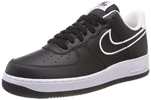 Air Sneakers 001 1 Schwarz Herren Leather White Black NIKE Force '07 5cwnBqP6Y