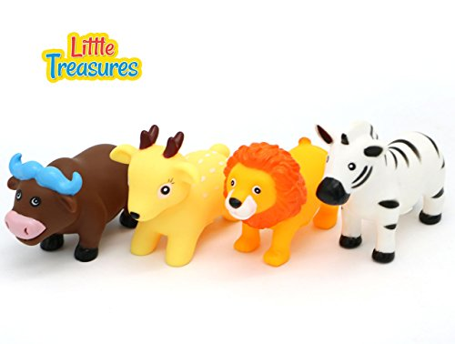 Little Treasures Animal Bath Toys hape Waterworks Bath Toy Colorful Lion Bull Deer And - Toy Bath Jungle