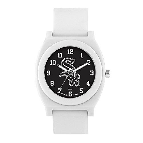 Watch Game Chicago White Sox (Chicago White Sox Fan White Unisex Wrist Watch)