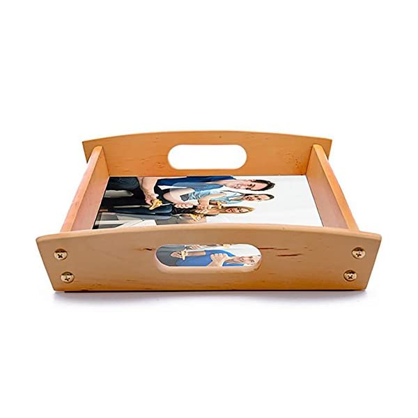 Dkora-T - Bandeja de madera personalizada Pequeña - 34x21cm 6