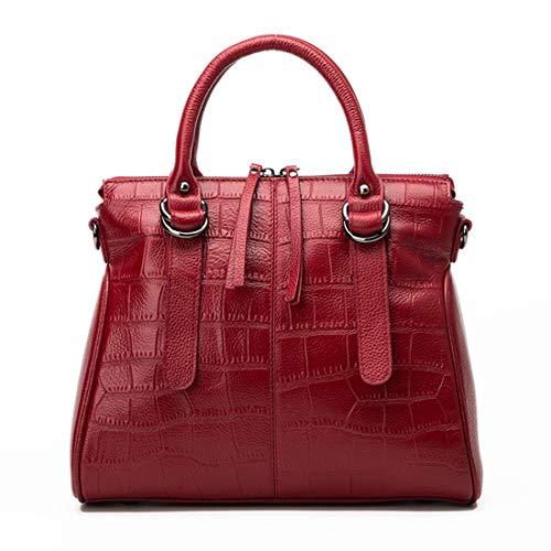 Hungrybubble capacità adatto borsa Navy colore alta per Vino per donna con Capacità Borsa Occasione Blu rosso normale manici ad fgrwfq