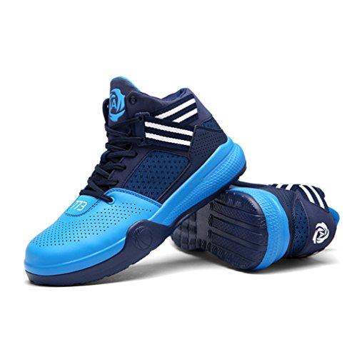 Unisex altas adulto Zapatillas LFEU Azul fq4pw6R
