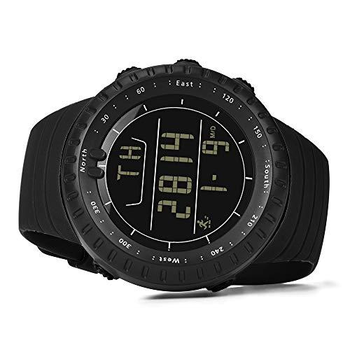 Dylung Reloj para Hombre Deportivos Reloj de Pulsera Relojes de Hombres Chicos Inteligente Digital Smartwatch Correa de Silicona Multifunciónal Hodómetro ...