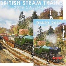 cadeau steam noel 2018 Calendrier et Agenda Lot de British Steam trains 2018 Fera un  cadeau steam noel 2018