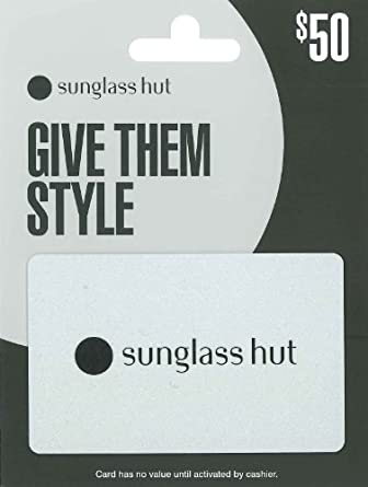 Amazon.com: Sunglass Hut $50: Gift Cards