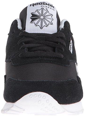 Reebok Damen Royal Nylon Fashion Sneaker Uns-schwarz / schwarz / weiß