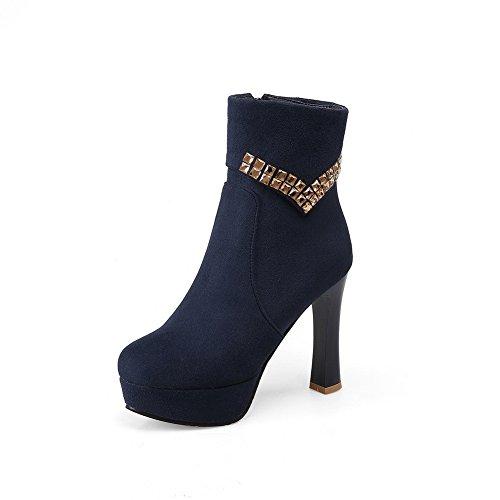 1to9 - Bottes Chukka Pour Femmes, Bleu (bleu), 35