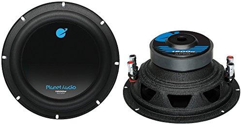 Planet Audio AC8D 8-Inch 1200W Subwoofer Dvc (Pair)
