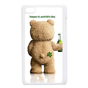 iPod Touch 4 Case White Ted qjuq