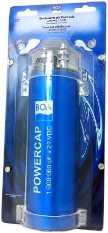 Boa 80001 Kondensator Powercap 1 0 Farad Blau Elektronik
