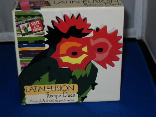 Read Online South of the Border LATIN FUSION Recipe Deck ~ A Card Deck of 100 Recipes & Menus ebook