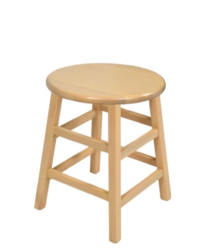 Cheap 18 Inch Stools ~ John boos inch natural birch collegiate stool review