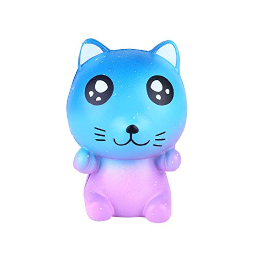 NOMENI Slow Rebound Starry cat Decompression Educational Toy Starry Sky cat Pressure Relief Toy Adult Teen Child Dog]()