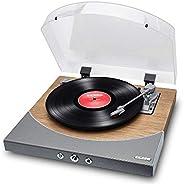 Toca-Discos de Vinil ION PREMIER LP com conversão digital, alto-falantes integrados e transmissão Bluetooth* -