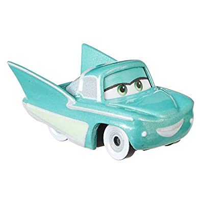 Disney Cars Mini Racers 'Nighttime in Radiator Springs' 3-Pack Cruisin' Lighting McQueen, Red Ramone, Flo: Toys & Games