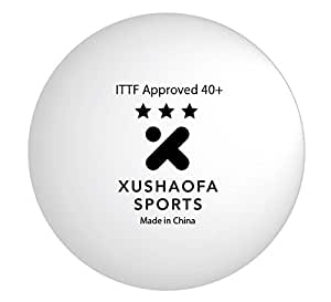 Xushaofa 40 seamless poly table tennis balls for 100 table tennis balls