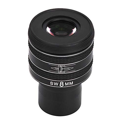 Mugast Planetary Eyepiece, 1.25 inch 8mm Planetary Telescope Eyepiece Black58 Degree Monocular Eyepiece for Planetary Observation and Deep Space Objects