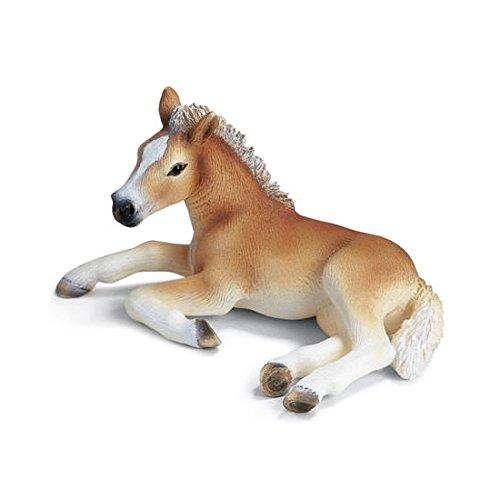 Außergewöhnlich Schleich 13292 - Pferde, Haflinger Fohlen, liegend: Amazon.de &PE_66