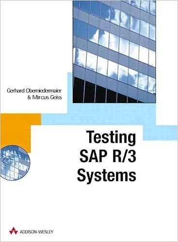 SAP R/3 Testing