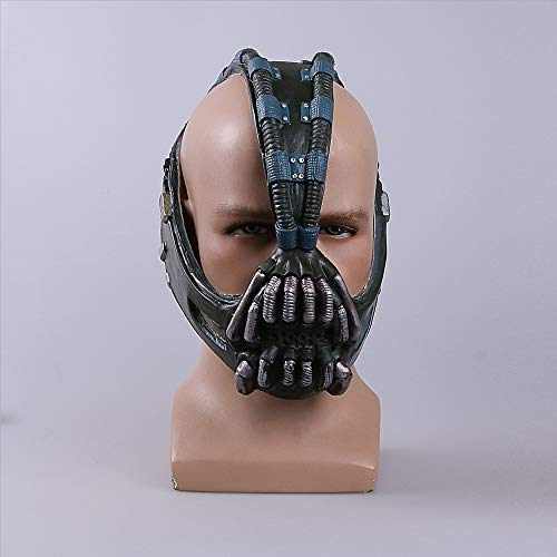Flamingo Bonut Latex Mask Cos Bane Masks Batman Movie Cosplay Props The Dark Knight Latex Mask Fullhead Breathable for Halloween
