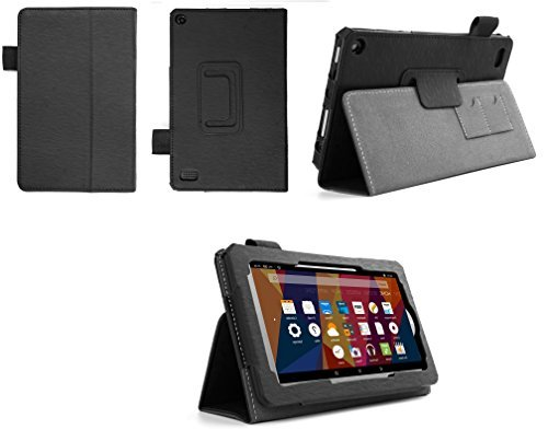 Case for Kindle Fire 7 Inch Tablet - Folio Case with Stand for Kindle Fire 7 Inch Tablet 5th Gen - (Imprint - Durable Covers Kindle Fire