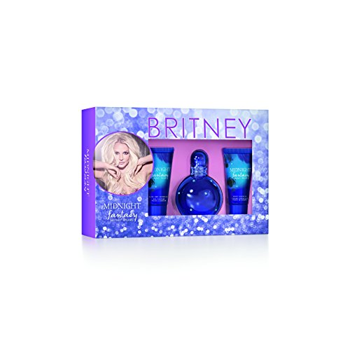 (Britney Spears Midnight Fantasy Ladies Gift Set )