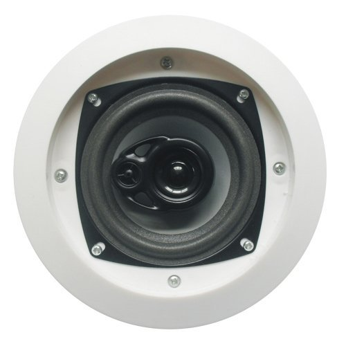 Acoustic Audio CS-IC43 200 Watt In Ceiling Speaker 3-Way Home Theater, White by Acoustic Audio by Goldwood
