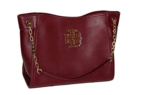 Tory Burch Britten Small Slouchy Tote Bag (Imperial ()