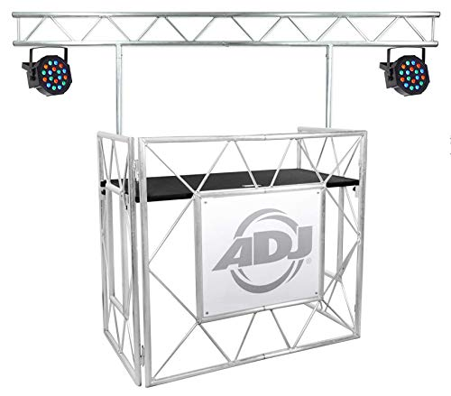 American DJ Pro Event Table II Foldable Portable DJ Booth (Djs Pro Lighting)