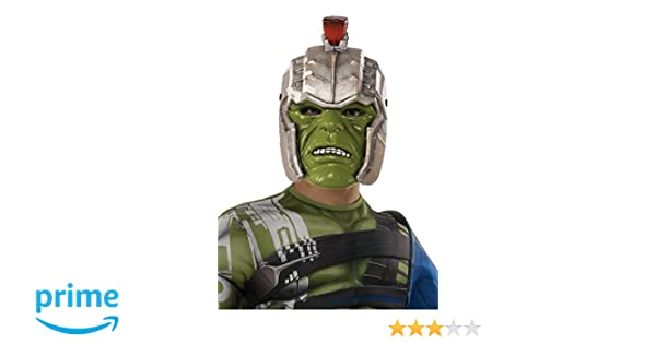 Amazon.com: Rubies Costume Thor: Ragnarok Warrior Hulk Helmet Costume Accessory Costume: Toys & Games