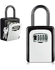 Key Lock Box, [Weatherproof][Wall Mounted] Diyife Lock Box for Keys Combination Key Safe Key Storage Lock Box for Home Garage School Outdoors