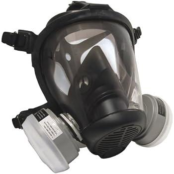 SAS Safety 7550-61 Opti-Fit Fullface APR Respirator, Small