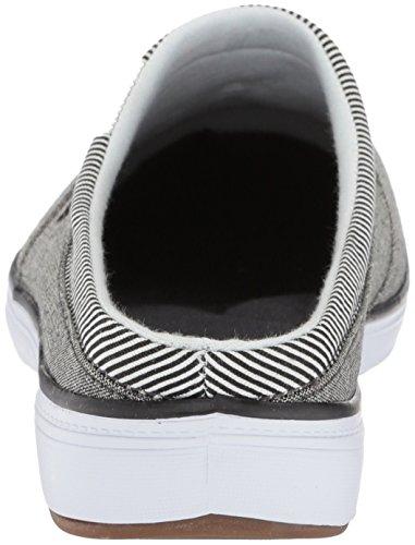 Sauterelles Womens Janet Mule Chambray Sneaker Noir