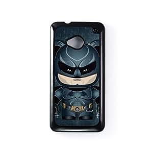 Dark Knight 2 Carcasa Protectora Snap-On en Plastico Negro para HTC® One M7 de Gangtoyz + Se incluye un protector de pantalla transparente GRATIS