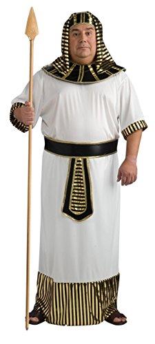 Rubie's Men's Plus Size Pharaoh Costume, As Shown, One Size