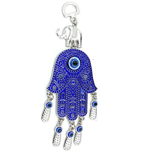 - MUYE Blue Evil Eye Hanging Decoration,Amulet Wall Hanging Home Decor Pendant (LESHOU)