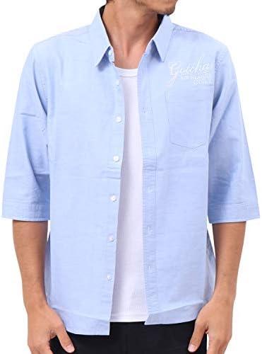 シャツ 六分袖 オックスフォード 192G1505