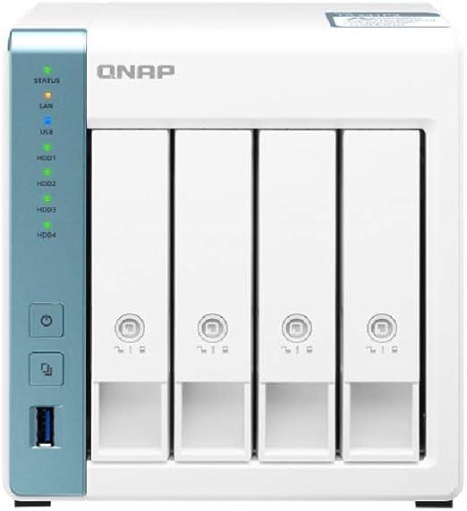 Qnap Ts 431p3 2g 4 Bay Desktop Nas Gehäuse Computer Zubehör